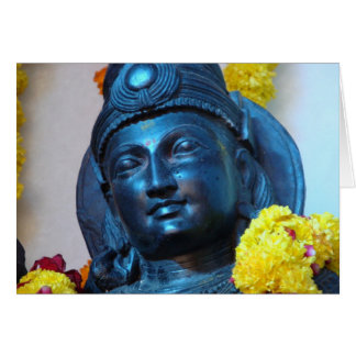 Estatua de Vijay Tarjeta De Felicitación
