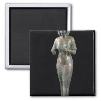 Estatua del Adoratress divino Karomama Imán Cuadrado