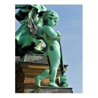 Estatua del ángel en Berlín, Alemania Tarjetas Postales