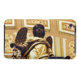 Estatua del ángel en oro iPod touch Case-Mate carcasa