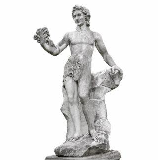 Estatua del Bacchus de dios Escultura Fotografica