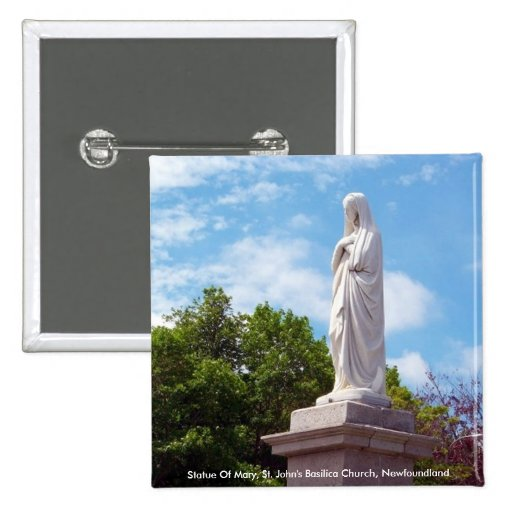 Estatua del botón de Maria Pins