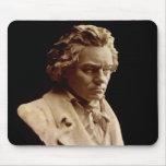 Estatua del busto de Beethoven Tapetes De Ratones