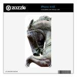 Estatua del caballo calcomanía para el iPhone 4S