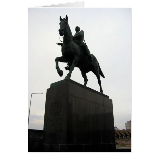estatua del caballo de La Habana Tarjeta