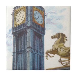 Estatua del caballo de la torre de reloj de Big Be Teja