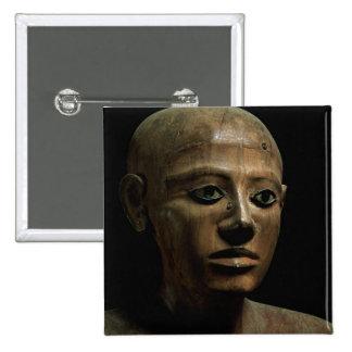 Estatua del canciller Nakhti, de Asyut, mediados d Pin Cuadrada 5 Cm