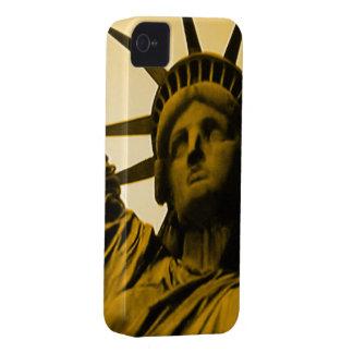 Estatua del caso del iphone 4 de la libertad apena iPhone 4 cobertura