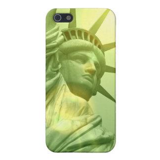 Estatua del caso del iPhone 4 de la libertad iPhone 5 Cárcasas