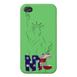 Estatua del caso del iPhone 4 de la libertad iPhone 4 Cárcasas