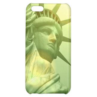 Estatua del caso del iPhone 4 de la libertad