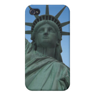 Estatua del caso del iPhone 4 de Nueva York del re iPhone 4/4S Carcasa