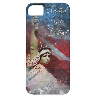 Estatua del caso del iPhone 5/5S de la libertad Funda Para iPhone SE/5/5s
