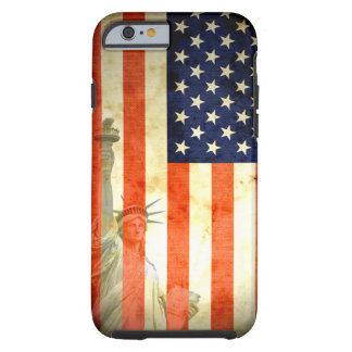 Estatua del caso del iPhone 6 de la bandera Funda De iPhone 6 Tough