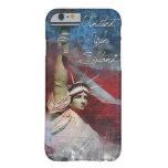 Estatua del caso del iPhone 6 de la libertad