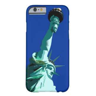 Estatua del caso del iPhone 6 de la libertad Funda Barely There iPhone 6