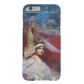 Estatua del caso del iPhone 6 de la libertad Funda De iPhone 6 Barely There