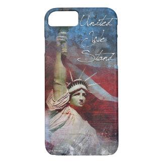 Estatua del caso del iPhone 7 de la libertad Funda iPhone 7