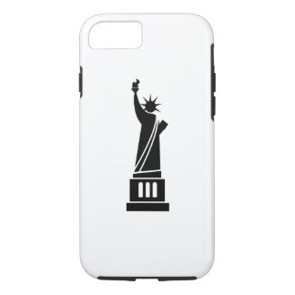 Estatua del caso del iPhone 7 del pictograma de la Funda iPhone 7