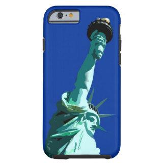 Estatua del caso duro del iPhone 6 de la libertad Funda Resistente iPhone 6