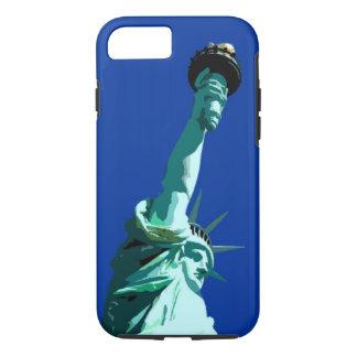 Estatua del caso duro del iPhone 7 de la libertad Funda iPhone 7