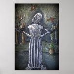Estatua del cementerio del ~Savannah del chica del Poster