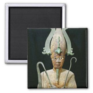 Estatua del culto de Osiris Imán Cuadrado