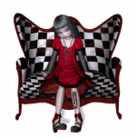 Estatua del Dollhouse Esculturas Fotograficas