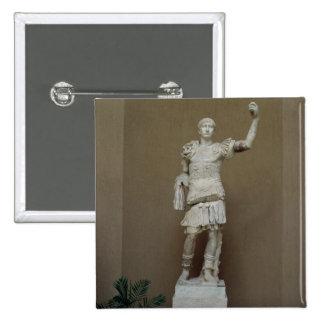 Estatua del emperador Trajan (ANUNCIO 53-117) (már Pin Cuadrado