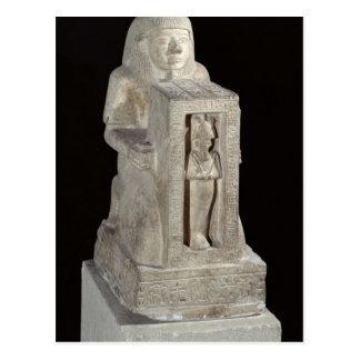 Estatua del escribano real, Seti de Naophorous Postales