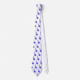 Estatua del estilo del arte pop de la libertad corbata personalizada