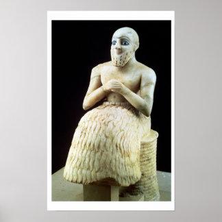 Estatua del funcionario Ebih-IL, del templo de Impresiones
