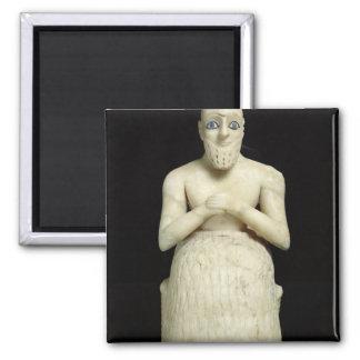 Estatua del funcionario Ebih-IL Imán Cuadrado