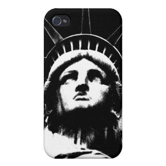 Estatua del iPhone 4 de Nueva York del recuerdo de iPhone 4 Carcasas