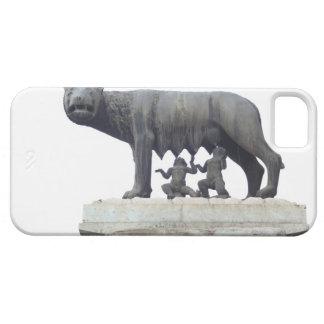 Estatua del lobo de Capitoline (cría del Ella-lobo iPhone 5 Case-Mate Funda