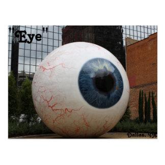 Estatua del ojo # 1 tarjetas postales