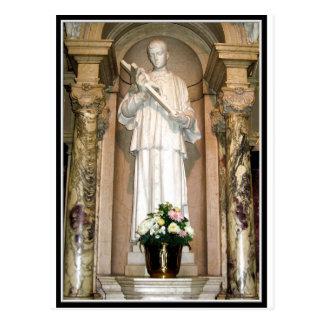 Estatua del St. Aloysius Gonzaga Postal