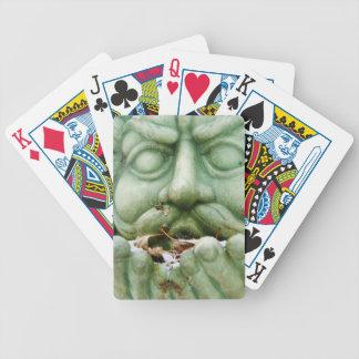 Estatua del viento del invierno cartas de juego