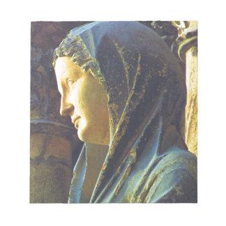 Estatua del Virgen María Blocs