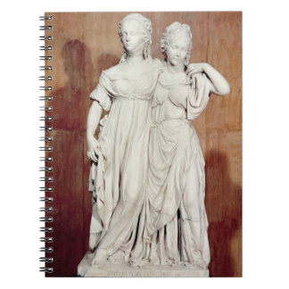 Estatua doble de las princesas Louise (1776-1810) Notebook