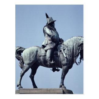 Estatua ecuestre de Charles Gustavo X, Tarjetas Postales