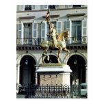 Estatua ecuestre de Juana de Arco Postal