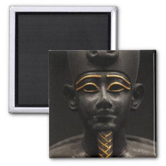 Estatua egipcia de Osiris Imán Cuadrado