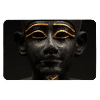 Estatua egipcia de Osiris Imán Rectangular
