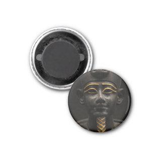 Estatua egipcia de Osiris Imán Redondo 3 Cm