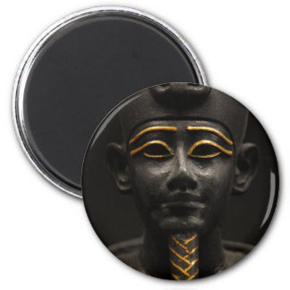 Estatua egipcia de Osiris Imán Redondo 5 Cm