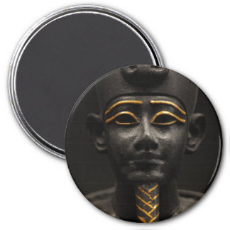 Estatua egipcia de Osiris Imán Redondo 7 Cm