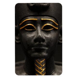 Estatua egipcia de Osiris Rectangle Magnet