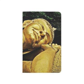 Estatua el dormir Buda Cuaderno