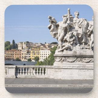 Estatua en Ponte Vittorio Manuel II, Roma, Posavasos